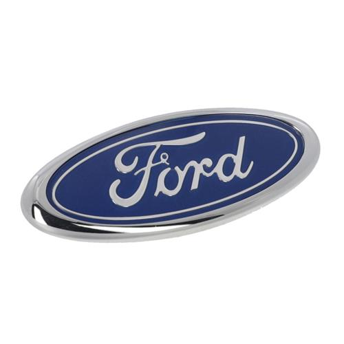 Mustang Ford Oval Trunk Emblem  - Original Ford Blue (83-93) E8ZZ-6142528