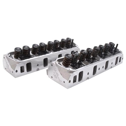 Edelbrock Mustang E-Series Fully Assembled Cylinder Heads 205cc (79-95) 5.0 5.8