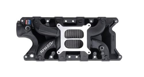 Edelbrock  Mustang Performer RPM Air-Gap Intake Manifold Black (79-85) 5.0 75213