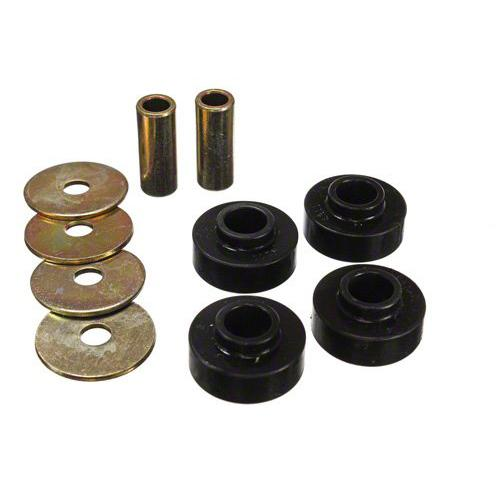 Energy Suspension Mustang IRS Differential Mount Bushing Kit Black (2015) 4.1139G