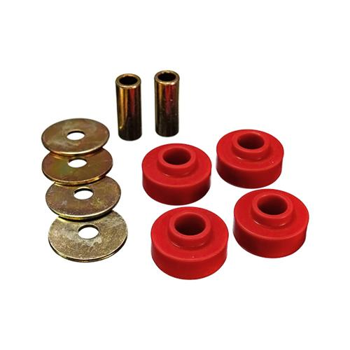 Energy Suspension Mustang IRS Differential Mount Bushing Kit Red (2015) 4.1139R