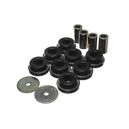 Energy Suspension Mustang IRS Subframe Bushing Set Black (2015) 4.4122G