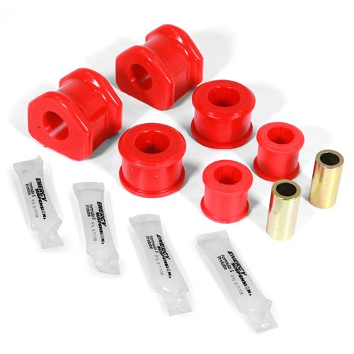 Energy Suspension Mustang 24mm Rear Sway Bar Bushing Kit  - Red - Performance Pack (11-14) 4.5195R