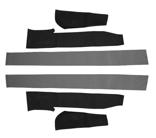 Picture of Mustang Convertible Top Pad Set (83-90)