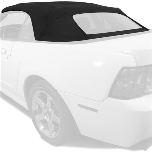 Electron Top Mustang Fabric Convertible Black 03 04 Cobra