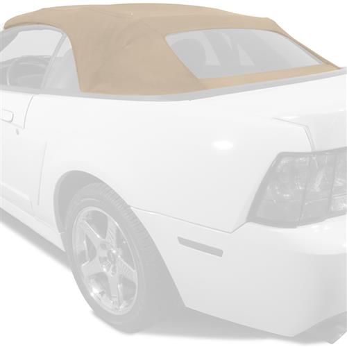 Electron Top Mustang Fabric Convertible Top Parchment (03-04) Cobra