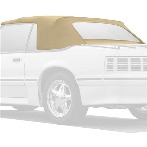 Electron Top Mustang Convertible Top  - Tan (83-90)