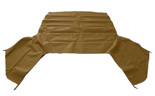 Electron Top Mustang Convertible Top  - Tan (83-90) FO4162 SP05 BEIGE TOP