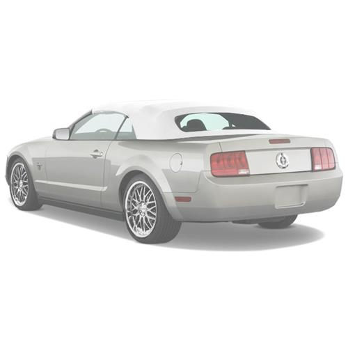 Mustang Convertible Top Kit - White Sailcloth (05-09) F04300-SA24