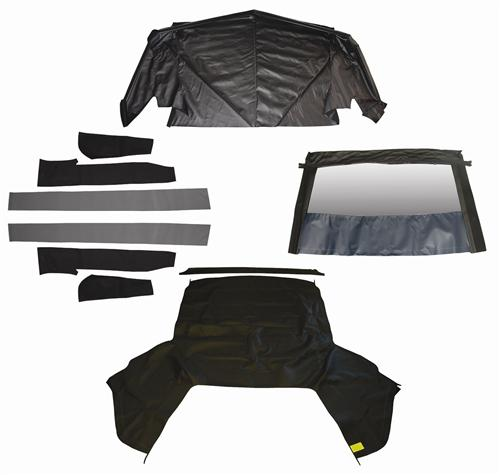 Mustang Convertible Top Kit - Black (1993)
