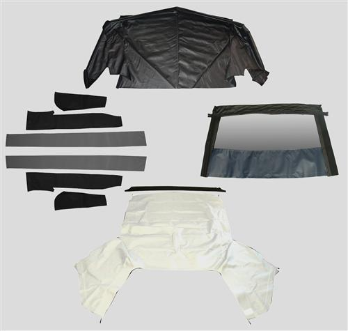 Mustang Convertible Top Kit - Bright White (1993)