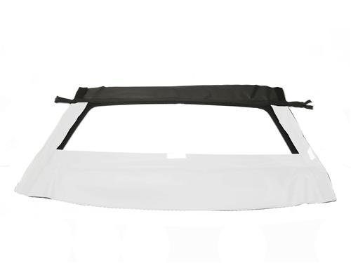 Mustang Convertible Glass Window w/ Velcro  - Bright White (1993)