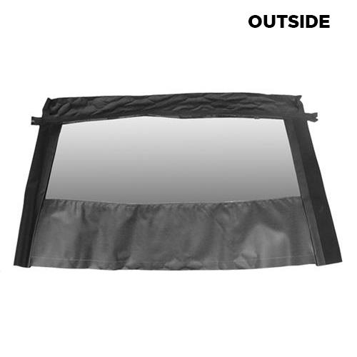 Mustang Convertible Glass Window  Black Fabric w/ Tint & Defrost  (03-04) Cobra ET218H ST11 G5