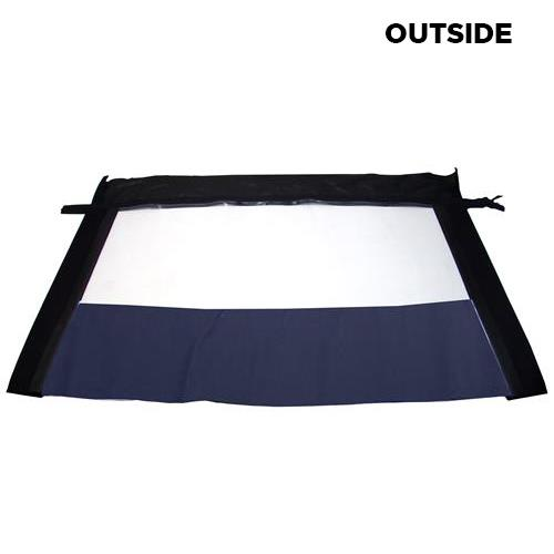 Mustang Convertible Plastic Window  - Blue  (83-93) 416/420 WINYL CURT/ OE11 BLUE - Mustang Convertible Plastic Window  - Blue  (83-93) 416/420 WINYL CURT/ OE11 BLUE
