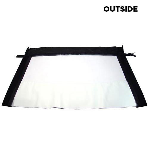Mustang Convertible Plastic Window  - Bright White  (1993) OE14