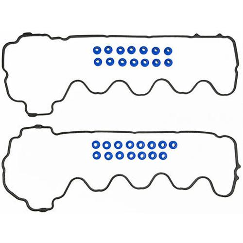 mustang valve cover gasket set with bolt hole grommets  05