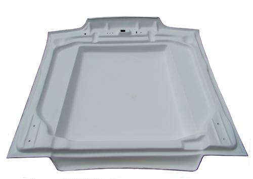 "HO Fibertrends Mustang Cowl Induction Hood 2"" (87-93)"