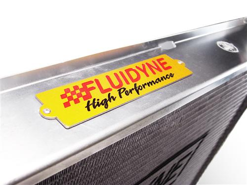 Fluidyne  Mustang 3 Row Aluminum Radiator w/ Manual Transmission (79-93)