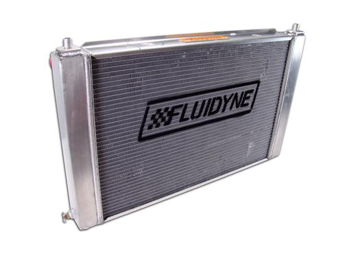 Fluidyne  Mustang 3 Row Aluminum Radiator with  Automatic Transmission  (97-04) FHP30-A97MU