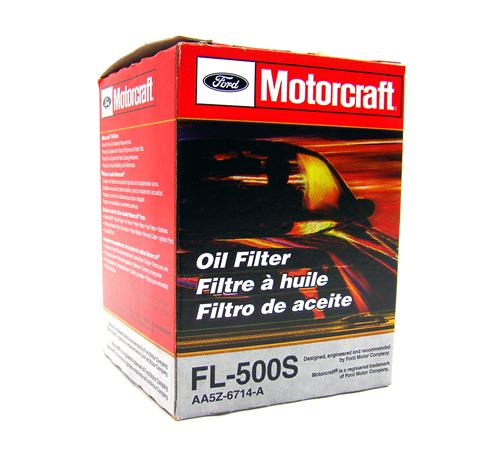 Motorcraft Mustang Engine Oil Filter (11-17) FL500S