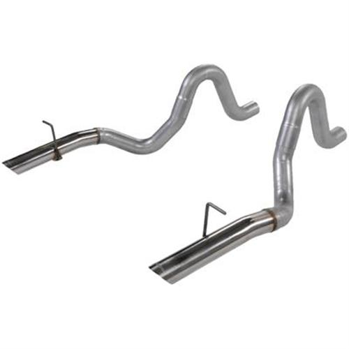 "Flowmaster Mustang 3"" Tailpipes with Stainless 3"" Tips (86-93) LX-GT-Cobra 5.0 15820"