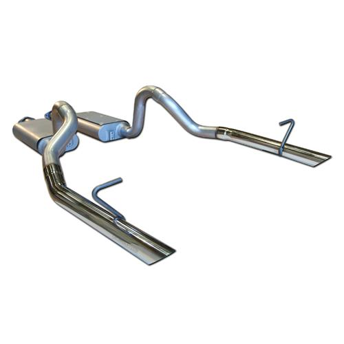 Flowmaster Mustang Force 2 Cat Back Exhaust System (86-93) LX 17203