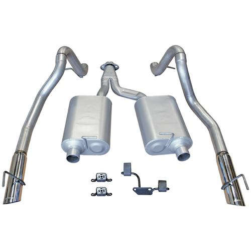 99-04 MUSTANG 3.8/3.9L V6 FLOWMASTER FORCE II CAT BACK EXHAUST SYSTEM