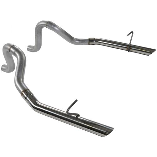 "Flowmaster Mustang 2.5"" Stainless LX Tailpipes (86-93) LX-Cobra 815814"