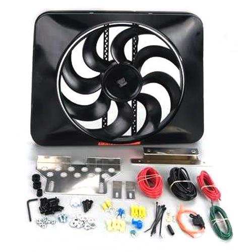 Mustang Black Magic Xtreme Electric Fan Kit (79-93) 5.0