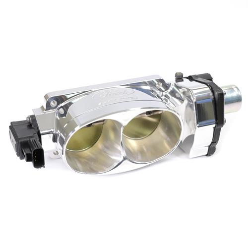 Ford Performance Mustang Cobra Jet Throttle Body - Twin 65MM Polished (07-17) GT/GT500 M-9926-CJ65