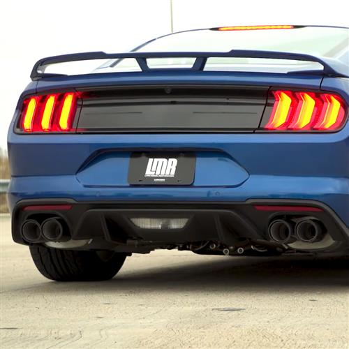 Ford Performance Mustang Sport Catback Exhaust System Carbon Fiber