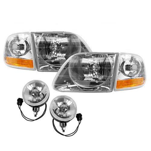 F-150 SVT Lightning 01-04 Style Headlight & Fog Light Kit (99-00) on 2002 f150 wiring harness, 2000 f150 wiring harness, 2001 pathfinder wiring harness, 2001 durango wiring harness, 2001 suburban wiring harness, 2001 jeep wiring harness, 2001 f150 stereo wiring diagram, 2001 camry wiring harness, 2007 f150 wiring harness, 2001 f250 wiring harness, 2001 blazer wiring harness, 2001 s10 wiring harness, 2001 impala wiring harness, 2005 f150 wiring harness, f15 wiring harness, 2006 f150 wiring harness, 2001 town car wiring harness, 2001 pt cruiser wiring harness, 2001 camaro wiring harness, 2001 mustang wiring harness,