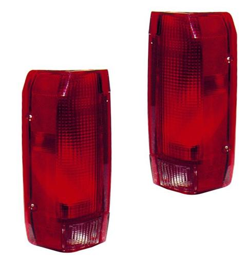 1993-95 Ford Lightning Taillight Kit. (pair)  FTP-13404f and FTP-13405F - Picture of 1993-95 Ford Lightning Taillight Kit. (pair)  FTP-13404f and FTP-13405F