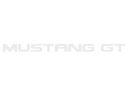 Mustang Rear Bumper Insert Decals White (94-98)