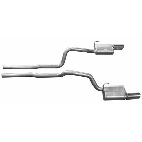 Gibson Mustang Cat Back Exhaust Kit (05-09) GT-GT500 319006