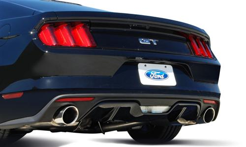 "Gibson Mustang Catback Exhaust Kit - 3"" Stainless Steel (2015) GT 5.0"