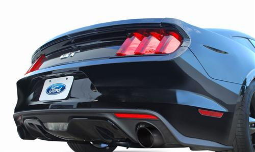 "Gibson Mustang Catback Exhaust Kit - 3"" Black (2015) GT 5.0"