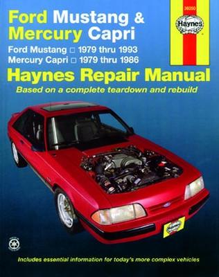 haynes mustang service manual 79 93 capri lmr com rh lmr com Mustang Restoration Manual 04 Ford Mustang Repair Manual