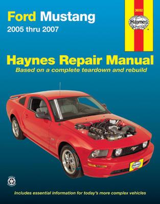 mustang haynes service manual 05 10. Black Bedroom Furniture Sets. Home Design Ideas