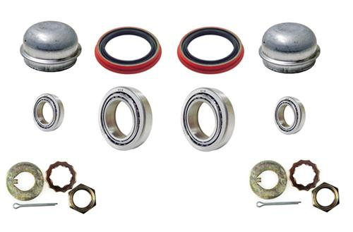 Mustang Front Brake Rotor Installation Hardware Kit (79-93)