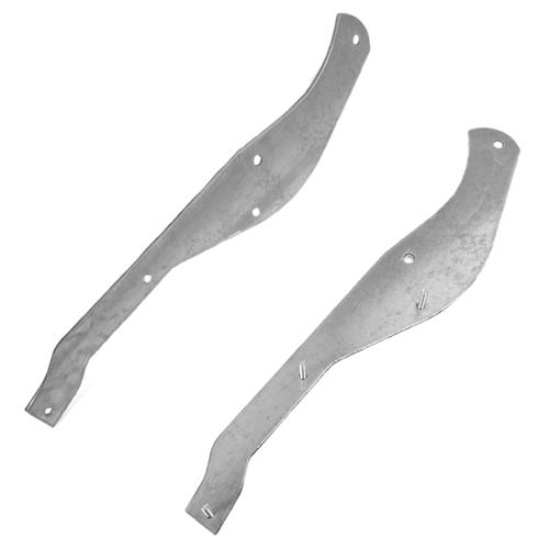 Mustang Rear Bumper Reinforcement Brackets (87-93) GT - Mustang Rear Bumper Reinforcement Brackets (87-93) GT