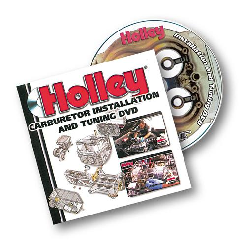 Holley Carburetor Installation & Tuning DVD 36-378