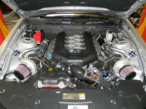 Hellion Mustang Twin Turbo Kit - Complete System (11-14) GT 5.0L 1113GT-TWIN