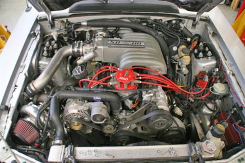Hellion Mustang Single Turbo Kit (86-93) GT 5.0L