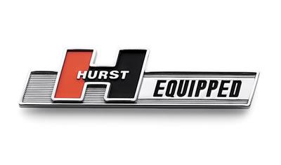 Hurst Equipped Emblem 136 1000