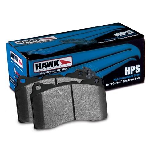 Hawk F-150 SVT Lightning Performance Front Brake Pad Set HPS Compound (99-04) HB299F.650