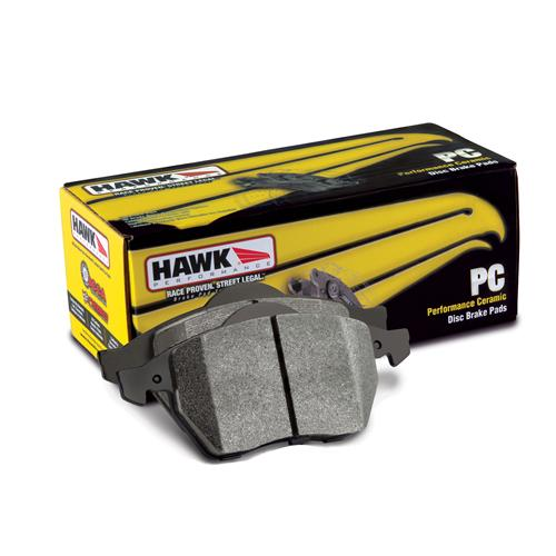 Hawk F-150 SVT Lightning Performance Rear Brake Pads Ceramic Compound (99-04) HB301Z.630