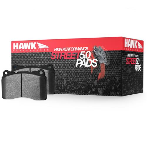 Hawk Mustang Rear Brake Pads - HPS 5.0  - GT Performance Pack (15-17) HB803B.639