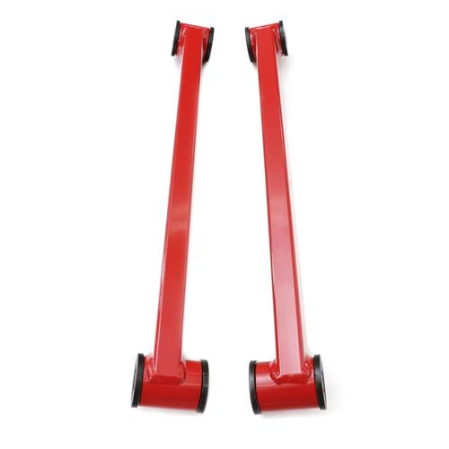 J&M  Mustang Street/Drag Lower Control Arms Red (05-14) 23865