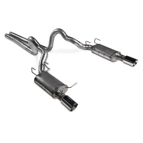 "JBA Mustang 3"" Cat Back Exhaust Kit Stainless Steel (15-17) Coupe 5.0 40-2646"